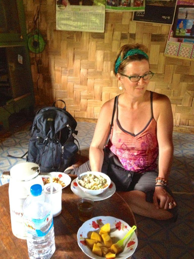 lunch in village